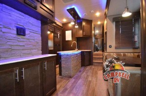 Beautiful interior on the Wolf Pack