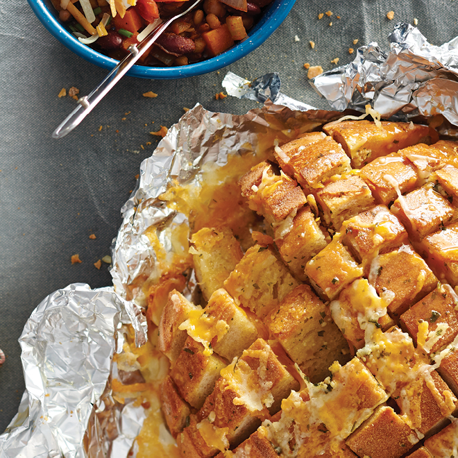 Pull apart the gooey deliciousness.