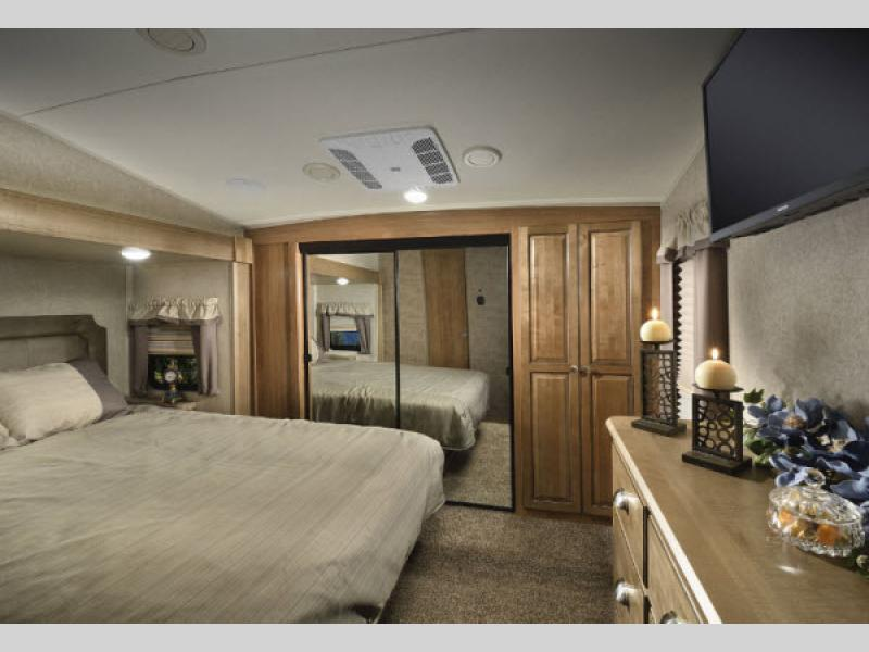 Fifth Wheel Master Bedroom