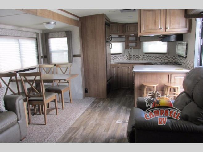 Forest River Flagstaff V-Lite Travel Trailer Kitchen