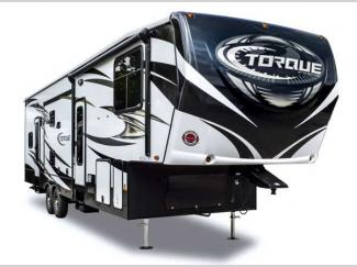 Heartland Cyclone Torque Wheel Toy Hauler Exterior