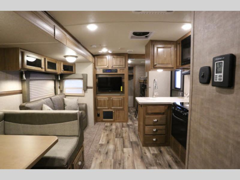 New Flagstaff V-Lite Travel Trailer Interior
