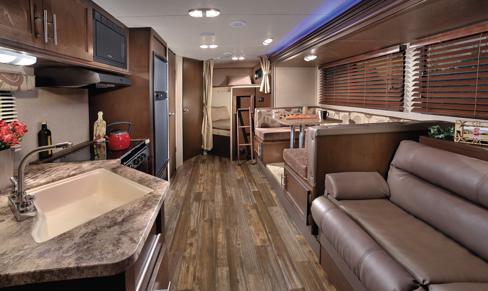 Forest River Cherokee Grey Wolf  Travel Trailer Interior Shot