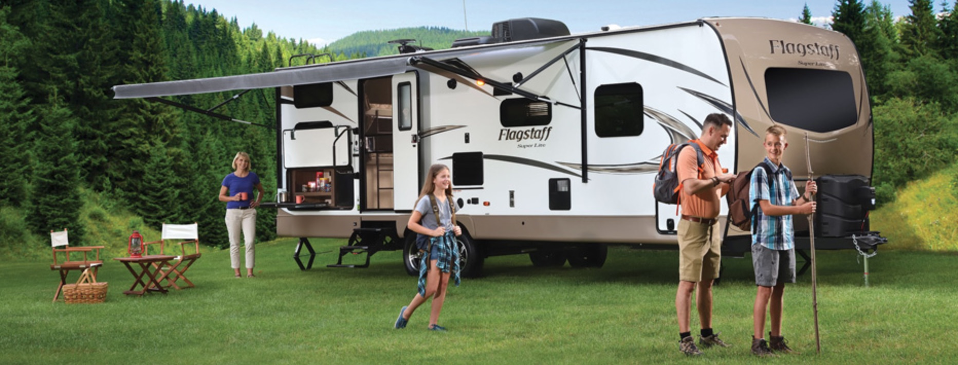 Flagstaff Super Lite Travel Trailer