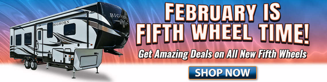 Fifth Wheel Sale Banner Campbell RV